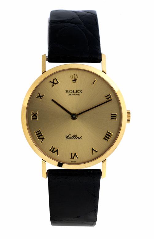 Feine ROLEX Cellini in Gold