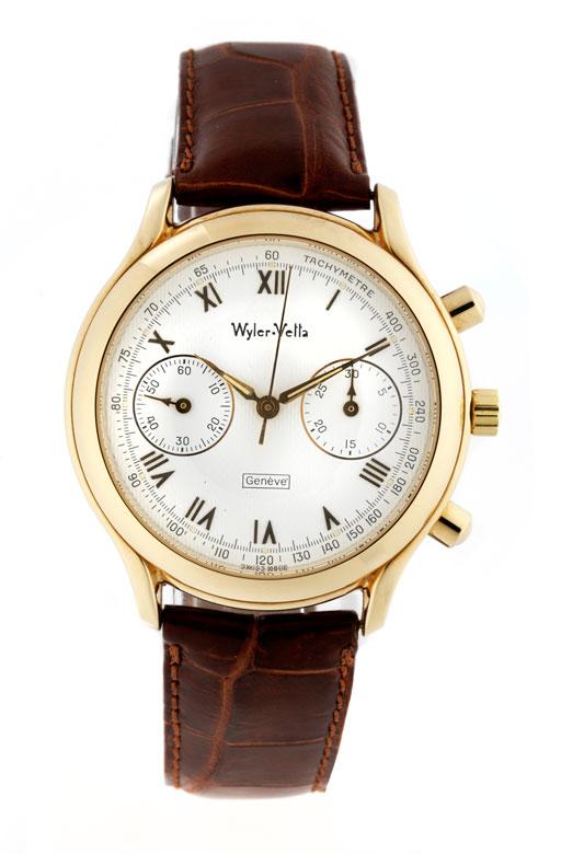 Wyler Vetta Chronograph in Gold
