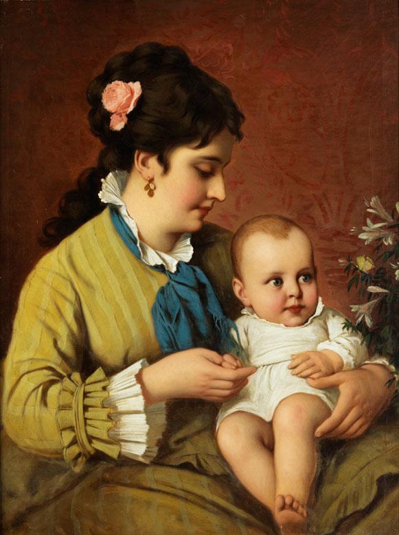 Marchand, Französischer Maler des 19. Jahrhunderts