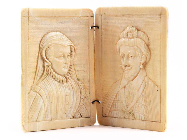 Doppelporträt eines Renaissancepaares