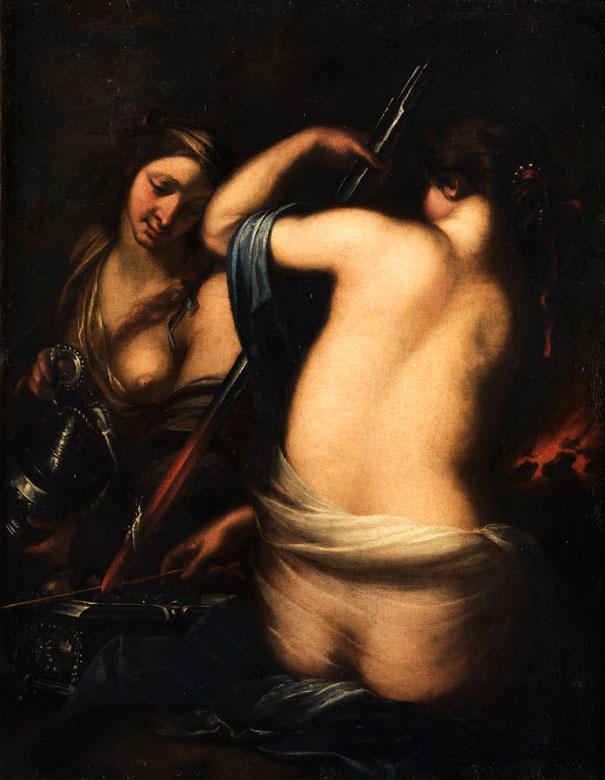 Francesco Furini, 1603 Florenz – 1646, zug.