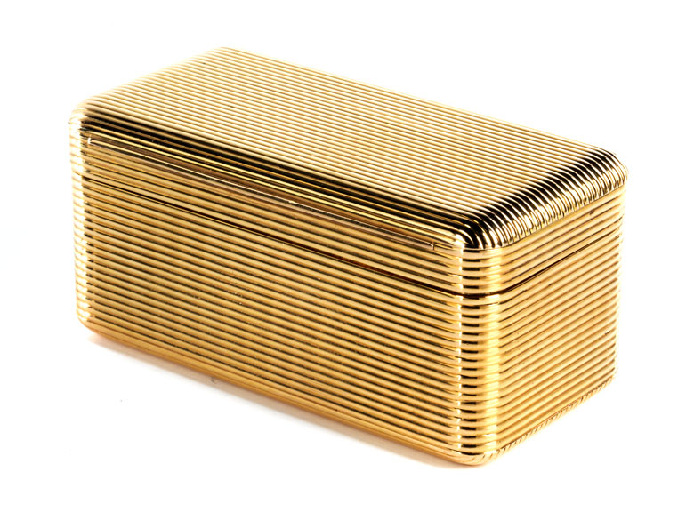 Gold-Tabatière