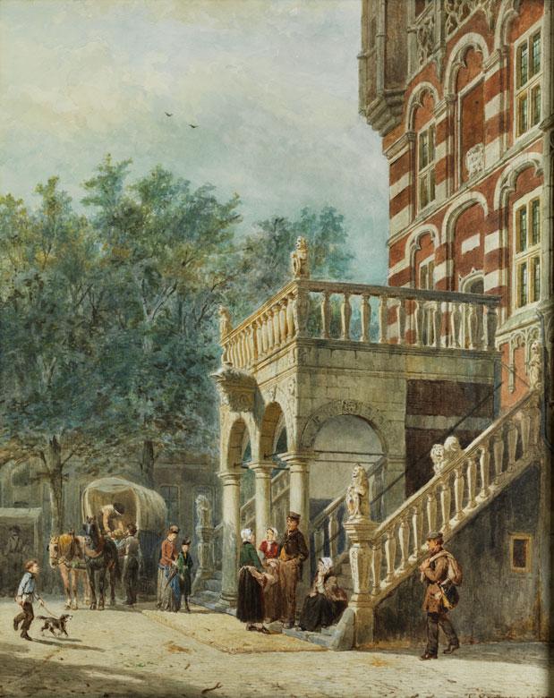 Cornelis Springer, 1817 Amsterdam – 1891 Hilversum