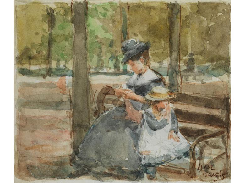 Isaac Israëls (*1865, Amsterdam - 1934 - Auktionen & Preisarchiv