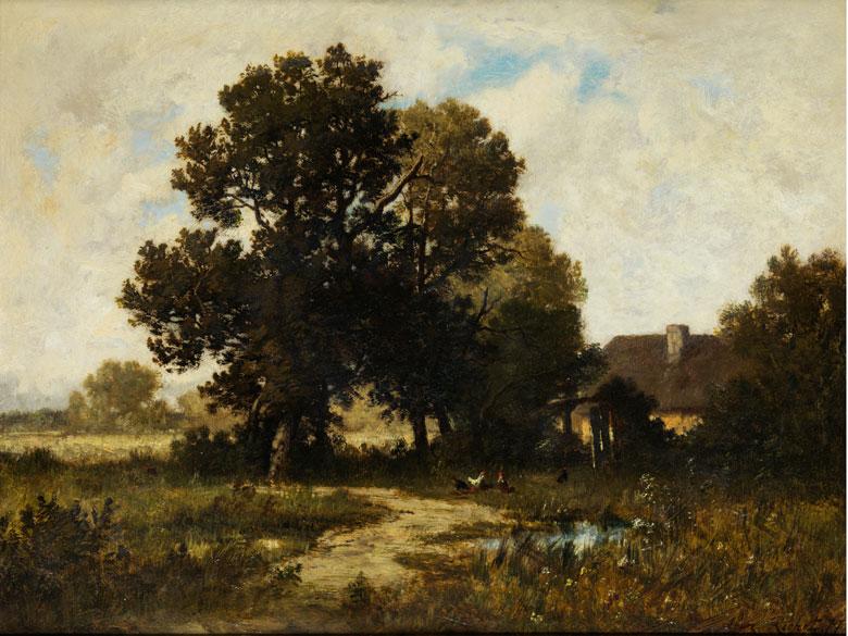 Léon Richet, 1847 Solesmes – 1907 Fontainebleau