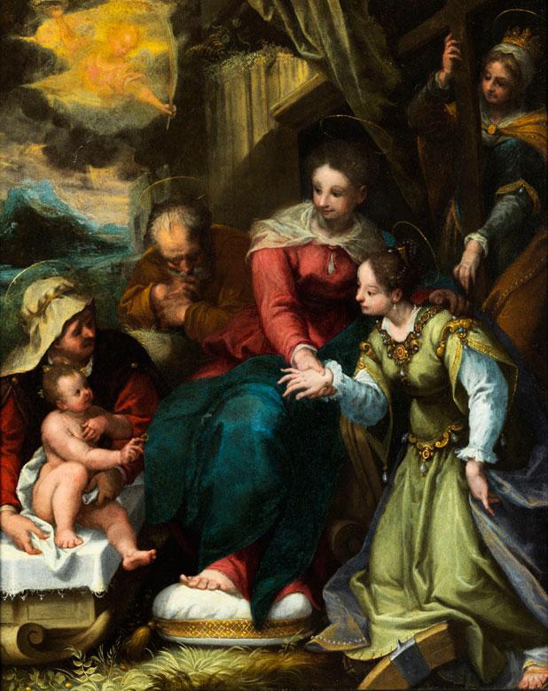 Denjs Calvaert, um 1540 Antwerpen – 1619 Bologna, Werkstatt