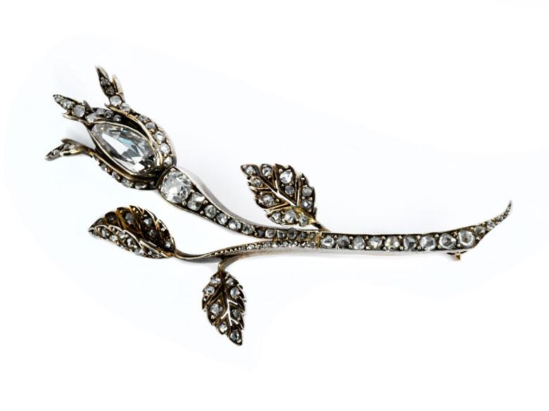 Diamant-Rosenbrosche