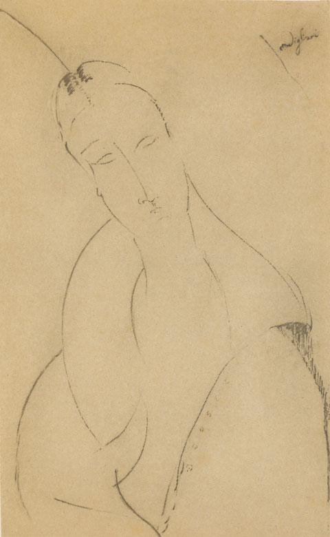 Amedeo Modigliani, 1884 Livorno – 1920 Paris