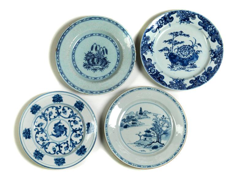 Konvolut chinesische Teller
