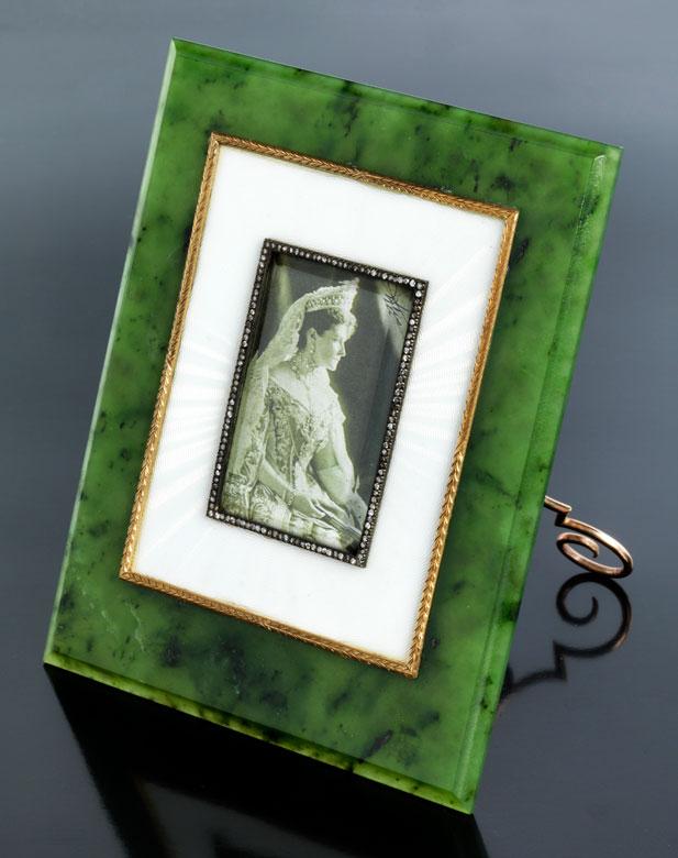 Fabergé-Bilderrahmen - Hampel Kunstauktionen