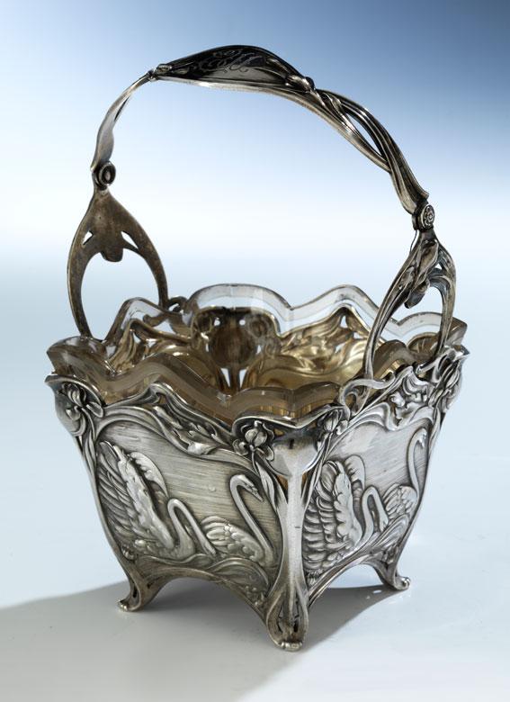 Sankt Petersburger Silberkorb