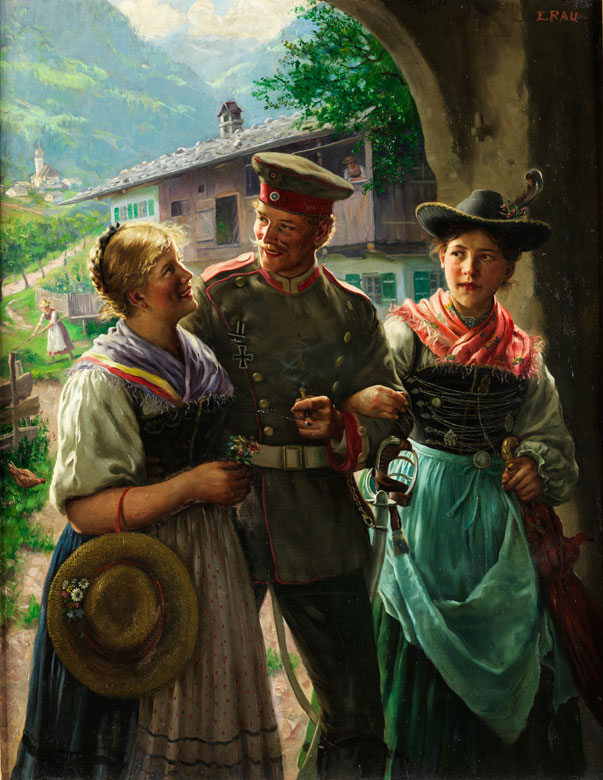 Emil Rau, 1858 Dresden – 1937 München