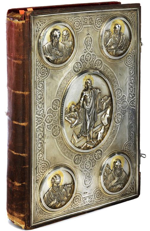 Großes russisches Evangelienbuch