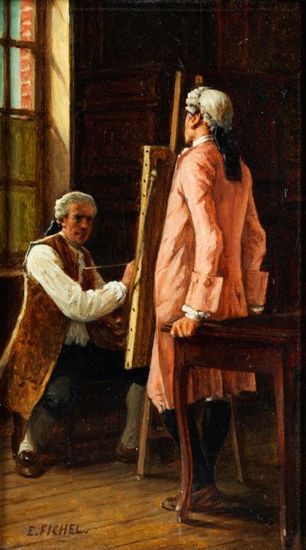 Eugène Benjamin Fichel, 1826 Paris – 1895, zug.