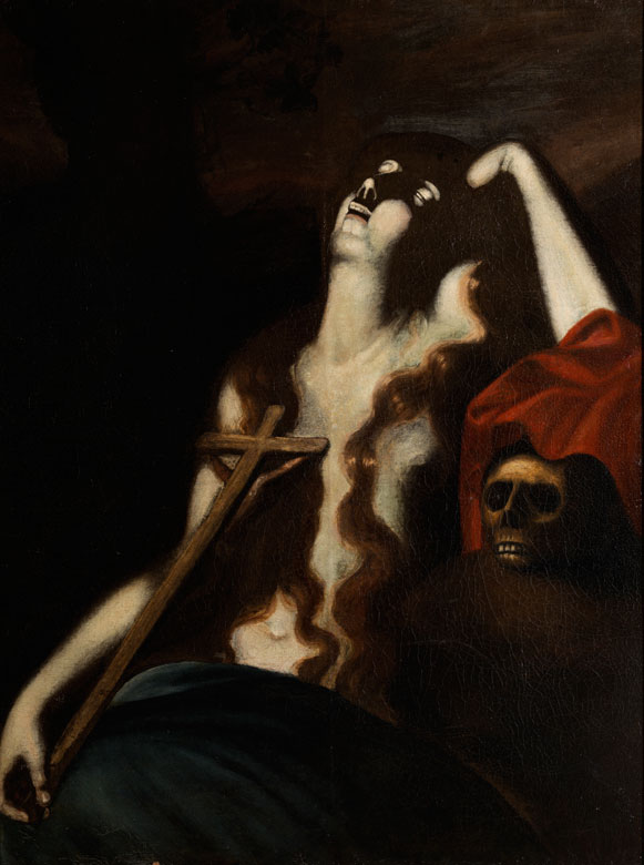 Italienischer Caravaggist des ausgehenden 17. Jahrhunderts