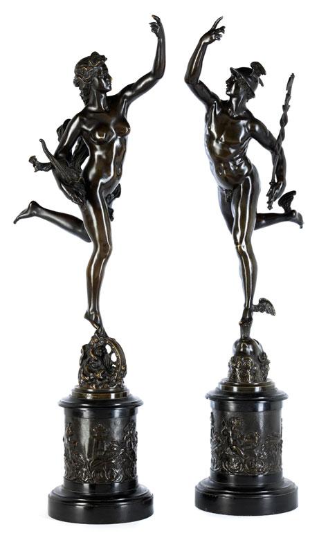 Skulpturenpaar nach Giambologna, 1529 - 1608