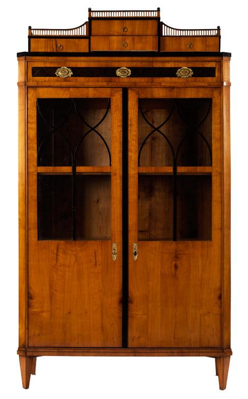 Biedermeier-Bücherschrank - Hampel Fine Art Auctions