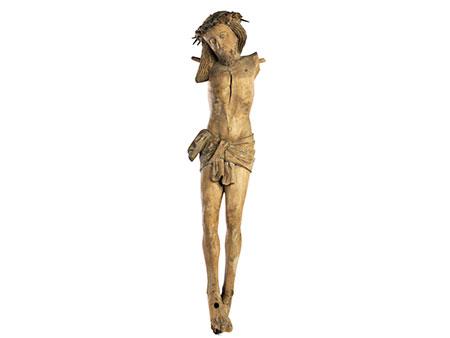 Sehr schöner gotischer Kruzifixus