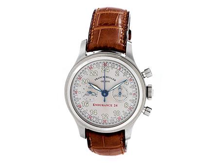 "Detail images:  Franck Muller Chronograph ""Endurance 24"""