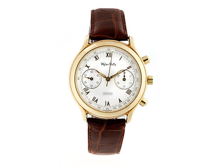 Wyler Vetta Chronograph in Gold
