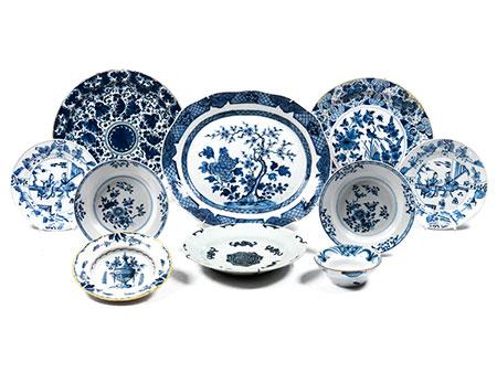 Konvolut chinesisches Export-Porzellan