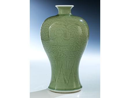 Celadon Glasur Meiping Vase