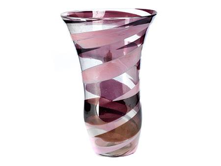 Venini-Vase, Carlo Scarpa, zug.