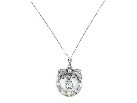 Detail images:  Diamant-Perlcollierchen