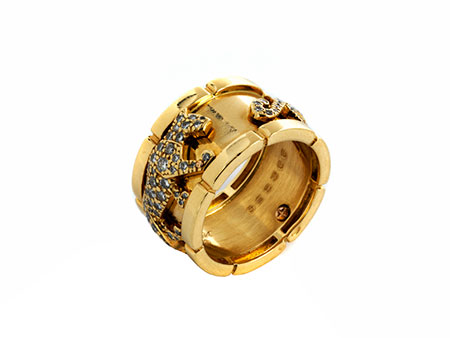 Detail images:  Pantherring von Cartier