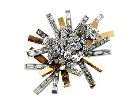 Detail images:  Diamantbrosche