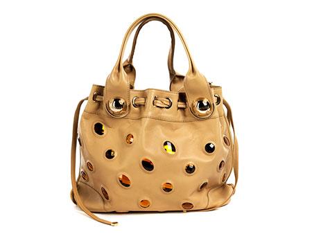 Versace Tote Bag mit Schmucksteinen