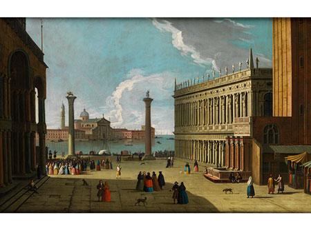 Luca Carlevarijs, 1663 – 1729, zug.