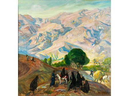 V. Petrochenko, Maler der ersten Hälfte des 20. Jahrhunderts