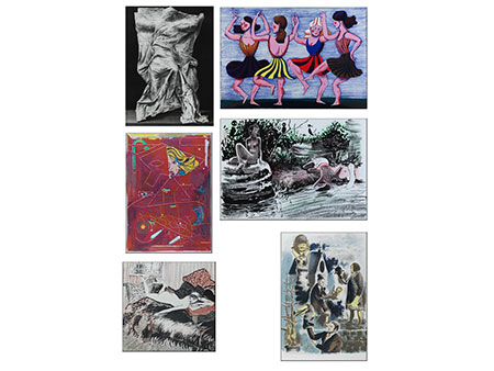 """Mappenwerk """"2014 – 10 Jahre Lithographisches Atelier Leipzig"""""""