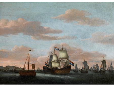 Willem van de Velde, 1633 Leiden – 1707 London