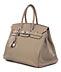 """Detail images: † Hermès Birkin Bag 35 cm """"Gris Tourterelle"""""""