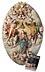 Detail images: Großes ovales Hochrelief-Schnitzwerk mit Darstellung der Marienkrönung