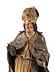 Detail images: Schnitzfigur eines heiligen Bischofs