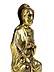 Detailabbildung: Hochrelief mit Christus im romanischen Stil