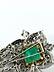 Detailabbildung: Smaragd-Diamantbrosche von Van Cleef & Arpels