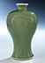 Detail images: Celadon Glasur Meiping Vase