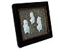 Detail images: Porzellanreliefs der Grafen von Tattenbach