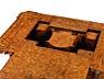 Detail images: Seltener musealer Rokoko-Verwandlungstisch