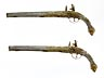 Detail images: Paar historisch bedeutende Silberpistolen