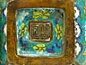 Detail images: Paar massive Cloisonné-Vasen