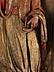Detail images: Spanischer Aediculaaufsatz eines Altars mit Schnitzfigur eines Heiligen Bischofs