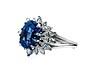 Detail images: Saphir-Diamantring von Gübelin