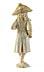 Detail images: Elfenbeinschnitzfigur eines Rokoko-Kavaliers mit Dreispitz und Stock