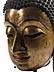 Detail images: Monumentaler Buddha-Kopf
