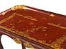Detail images: Roter Louis XV-Kabaretttisch